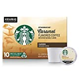 Starbucks Flavored K-Cup Coffee Pods — Caramel for Keurig Brewers — 1 box (10 pods)