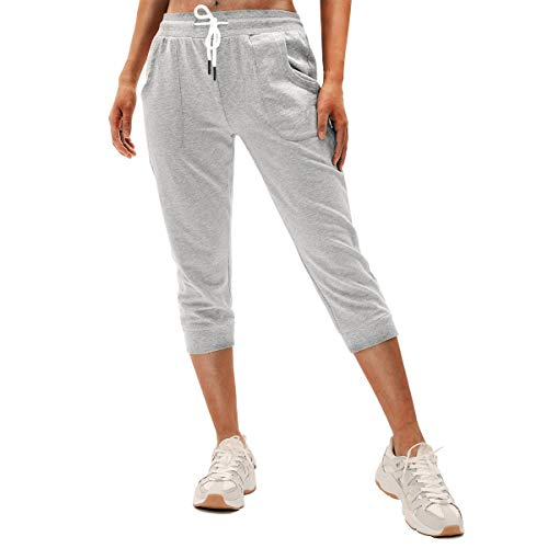 SPECIALMAGIC Women's Sweatpants Capri