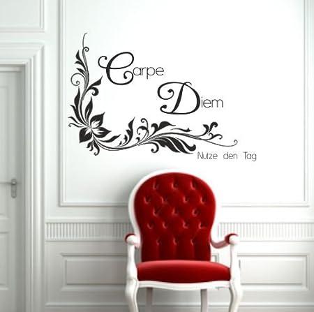 Tatuajes de pared carpe Diem uso el día Disponible en más de 30 ...