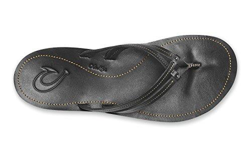 Women's Black Black Women's OLUKAI U'I U'I OLUKAI OLUKAI Sandals Women's U'I OLUKAI Sandals Sandals Black p6WZU6
