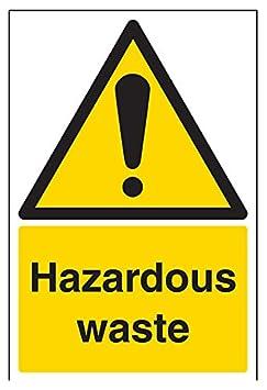 plastica rigida verticale 150/mm x 200/mm vsafety 6/a040an-rpericolo Segnale di avvertimento sostanza e chimica Acido Nitrico colore: nero//giallo
