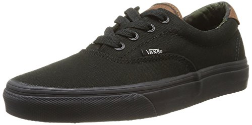Vans Unisex Era 59 (C&L) Black/Black/Camo Skate Shoe 8 Men US / 9.5 Women US