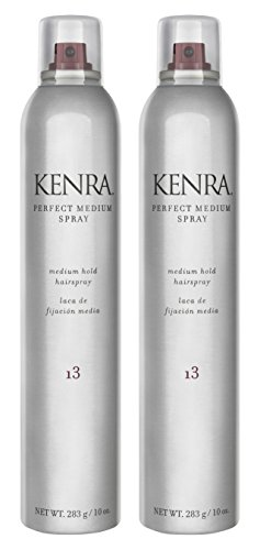 Kenra Perfect Medium Spray 55% VOC, 10-Ounce, 2 Count (6-Pack) by Kenra