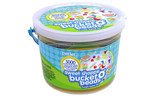 Perler Beads Sweet Shoppe Bead Bucket Fused Beading Kit