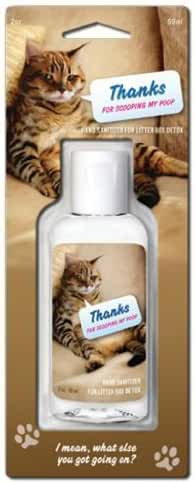 Blue Q Hand Sanitizer - Thanks For Scooping My Poop by Blue Q