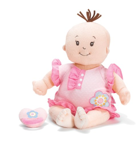 Presents to get 1 year old girls. Manhattan Toy Baby Stella Sweet Sounds Soft Nurturing First Baby Doll