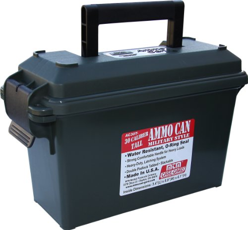 MTM AC30T-11- 30 Caliber Tall Ammo Can (Forest Green)