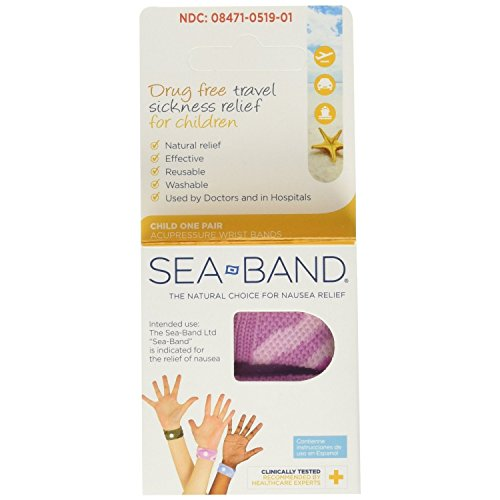 Sea-Band Child Wristband for Travel Sickness 8000025C by Sea-Band