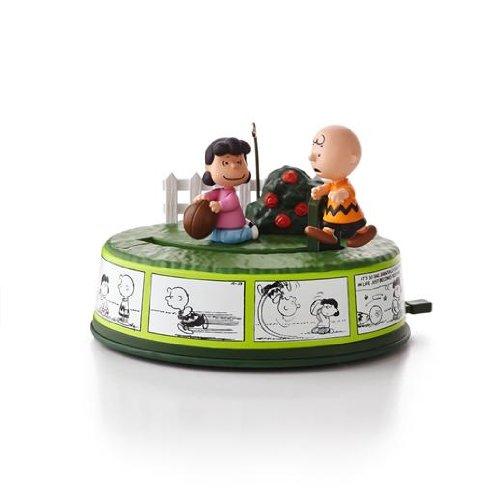 1 X Optimist Charlie Brown - The Peanuts Gang 2013 Hallmark Ornament ()