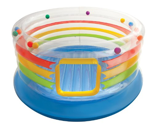 Cheapest Price! Intex Jump-O-Lene Transparent Ring Inflatable Bouncer, 71 X 34, for Ages 3-6