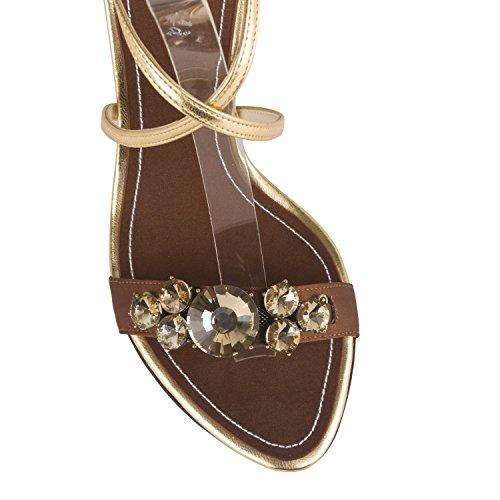 FARFALLA - Zapatos de tacón  mujer Marrón - marrón