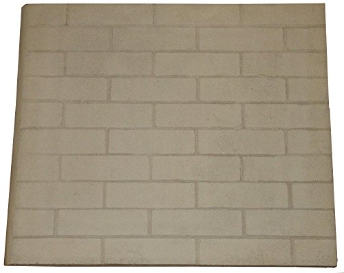 Replacement Refractory Panel 24 inch X 28 inch x 1 inch (Inserts Wood Burning)