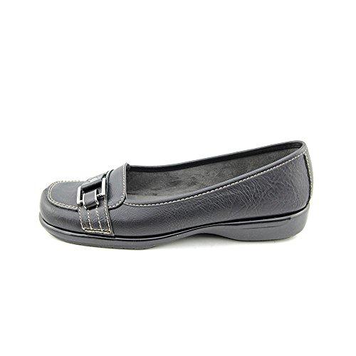 A2 by Aerosoles Women's Caprice Slip-On Loafer,Black,7.5 M US