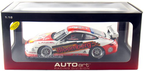2006 Porsche 911 GT3 Cup 1:18 Scale (White/Red) (Porsche Gt3 Cup)