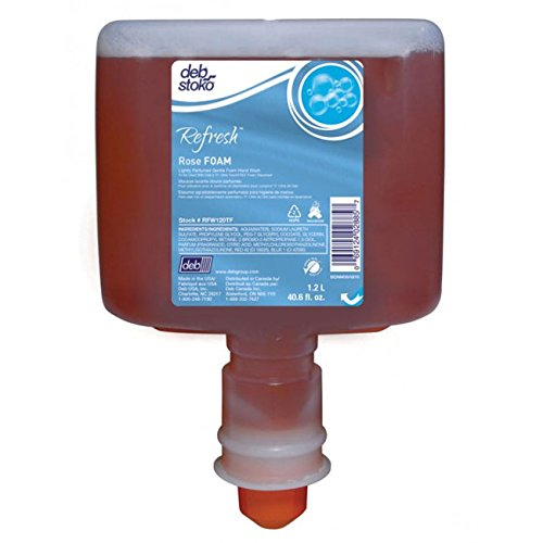 Deb Rose Foam Wash 1200mL for Touch-Free Dispensers, EA by Deb Rose