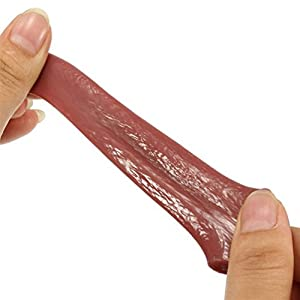 Gooday 3 Pcs Realistic Fake Tongue Gross Jokes Prank Magic Tricks Halloween Horrific Magicians Props
