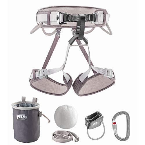 PETZL Kit Corax Climbing Kit Gray Size 1 ()