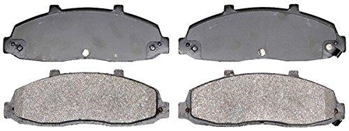 ACDelco 14D679M Advantage Semi-Metallic Front Disc Brake Pad Set with Wear Sensor ()