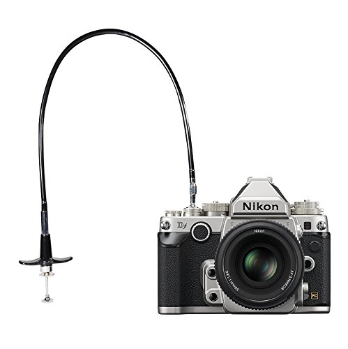 Foto&Tech 70cm Mechanical Shutter Release Cable w/ Bulb-Lock for Nikon Df/ F80/ F4/ FM2/ F3 / FE/ FM3a, Fujifilm X-Pro2 / X10 / X100 / X-PRO1 / X-E1/ DF-1, Leica M6 / M8 / AE-1, Minolta SRT-200 FotoTech Threaded Cable-70CM