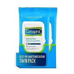 Cetaphil Gentle Skin Cleansing Cloths, 5...