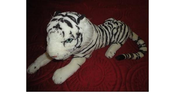 Amazoncom Sholam Toys White Tiger 32l X 20w X 99h