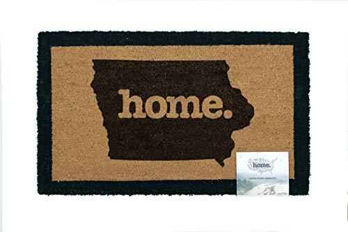 Home State Apparel Iowa Home Coir Door Mat