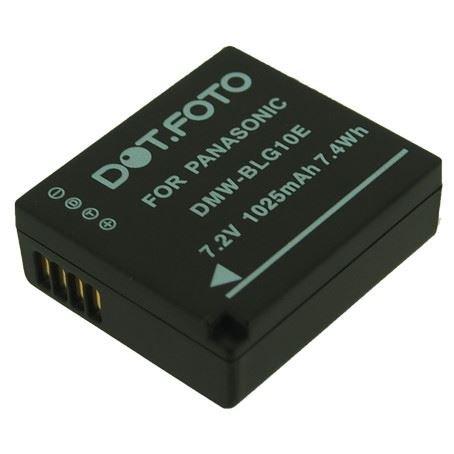 Batteria Patona per Panasonic DMW-BCG10,DMW-BCG10E,DMW-BCG10PP