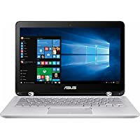 Newest 2017 Asus 2-in-1 Convertible Backlit Keyboard 13.3 inch Full HD Touchscreen Flagship High Performance Laptop PC, Intel Core i5-7200U Dual-Core, 6GB DDR4, 1TB HDD, Stereo Speakers, Windows 10