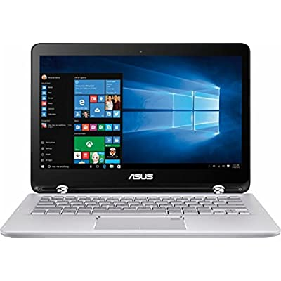 Image of 2017 ASUS 13.3 inch 2-in-1 Touchscreen FHD (1920 x 1080) Laptop PC, 7th Intel Core i5-7200u, 6GB DDR4 SDRAM, 1TB HDD, Backlit Keyboard, Built-in fingerprint reader, HDMI, Bluetooth, Windows 10 2 in 1 Laptops