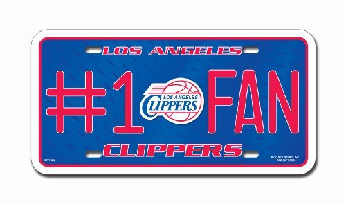 NBA Los Angeles Clippers #1 Fan Metal Tag by Rico