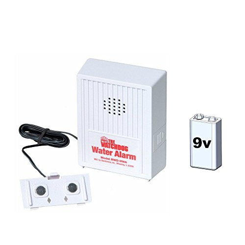 Glentronics WD-HWA Basement Watchdog Water Sensor and Alarm with 9 Volt Battery (Watchdog Water Alarm)