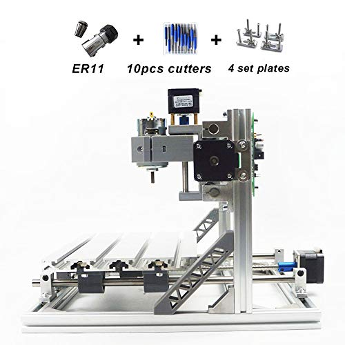 3 Axis 3018 DIY Mini GRBL Control CNC Laser Machine Pcb Pvc Milling Wood Router from TFCFL