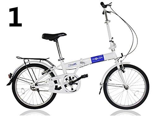 20インチ 折りたたみ自転車 折畳自転車 おりたたみ自転車MTB おりたたみ自転車W320 B00QA16LC4 ブルー ブルー