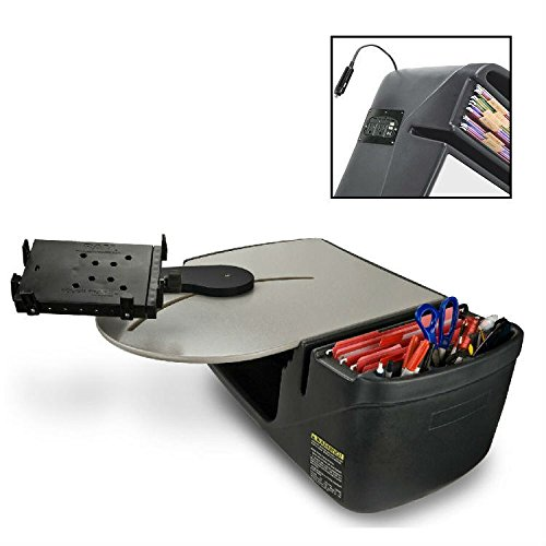 Truck Portable Car Seat Desk with Built In 200Watt Inverter and Tablet/Netbook Mount - 00370 with Free Ergonomics eBook (Autoexec Roadmaster Truck)