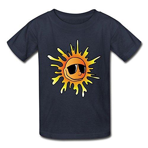 Kids Short Sleeves Shirts Sunglasses Cool Sun Birthday Day Baby ()