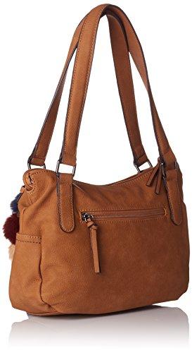 y Tamaris Marrón de Nut Shoppers Mei Braun hombro Mujer bolsos rv6vE0q