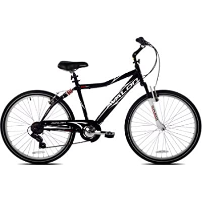 "26"" NEXT Avalon Men's Comfort Bike with Full Suspension, 22636, Black"