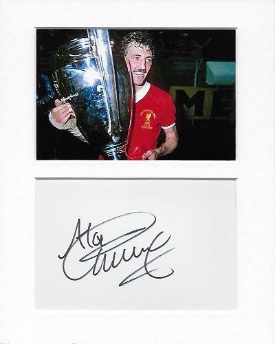 Balón de Fútbol – Liverpool – Alan Kennedy auténtico autógrafo ...