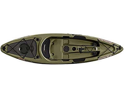 Sun Dolphin Journey sit-on-top Fishing Kayak, 10-Feet