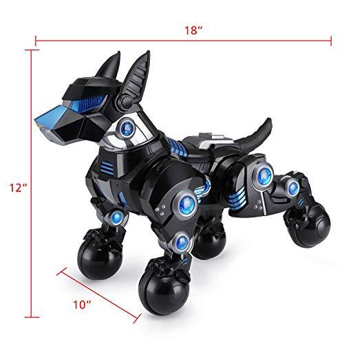 Modern-Depo Rastar Intelligent Robot Dog with Remote Control for Kids, USB Charging, Dancing Demo - Black by Modern-Depo (Image #2)