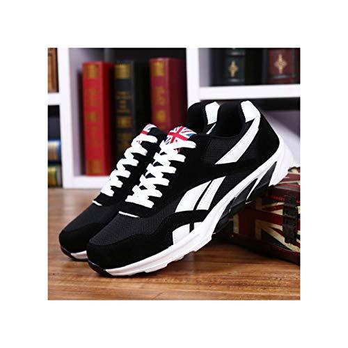 Men's Casual Shoes Fashion Adult Ultra Boosts Zapatillas de Deporte Comfortable high Help Shoes Men TeMasculino 8715-8-Black 9.5
