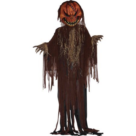 12' Scary Pumpkin Halloween Prop 37.00 x 18.00 x 18.00 Inches ()