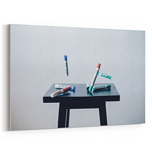 Westlake Art - Marker Dry-Erase - 12x18 Canvas Print Wall Art - Canvas Stretched Gallery Wrap Modern Picture Photography Artwork - Ready to Hang 12x18 Inch (ABC3-29BB0)