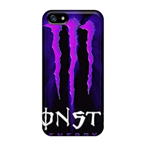 JasonPelletier Iphone 5/5s Scratch Protection Phone Cases Support Personal Customs Lifelike Monster Pictures [UiX12214SxvE]