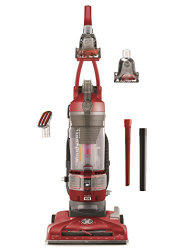 Hoover Vacuum Cleaner T-Series Windtunnel Pet Rewind Bagless Corded Red Upright Vacuum UH70214PC - Red Upright Vacuum