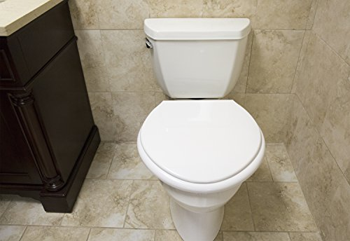 Big John 1 W Oversized Toilet Seat With Cover And