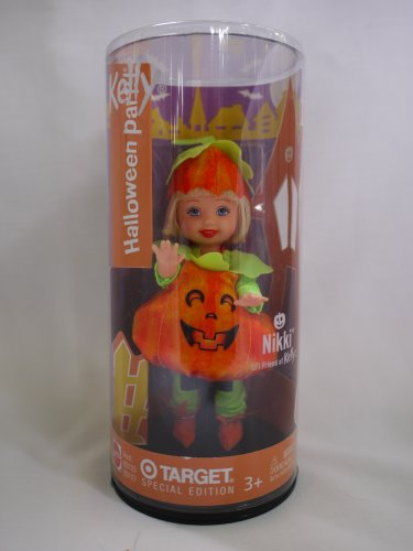 Barbie Kelly Club - Nikki as a Pumpkin - Halloween Party - Target Special Edition Doll (Target Halloween Kelly Dolls)