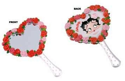 Betty Boop Bed of Roses Hand Mirror Vanity Gifts