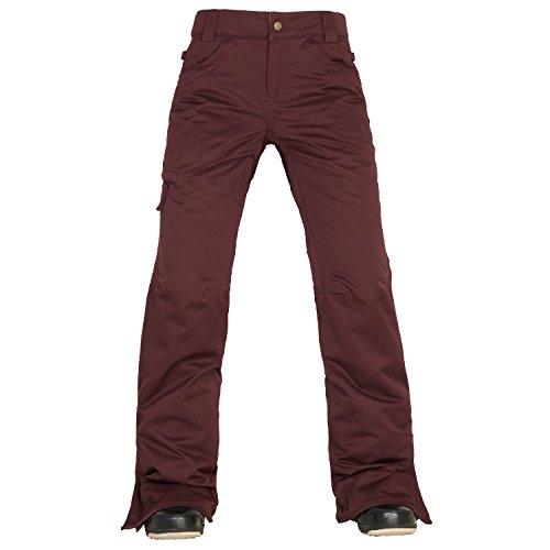 686-womens-authentic-patron-insulated-snowboarding-pants-black-ruby-medium