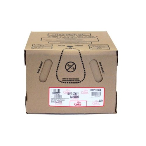 Diet Coke Soda Syrup 2.5 Gallon Bag in Box BIB